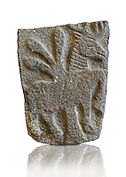 9th century BC stone Neo-Hittite/ Aramaean Orthostats from Palace Temple of the Aramaean city of Tell Halaf in northeastern Syria close to the Turkish border. The Orthostats are in a Neo Hittite style and depict mythical animals and figures that have magical properties. Pergamon Museum, Berlin Museum Inv No: OP 19,