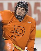 Brandon Kushniruk - Princeton University Tigers took part in their morning skate on Friday, December 30, 2005 before facing the University of Denver in their first game of the Denver Cup at Magness Arena in Denver, Colorado.  Princeton defeated DU that evening 4-1.