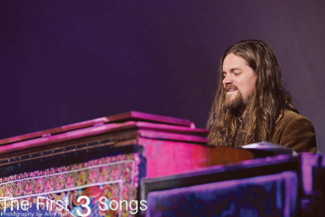 Brandon Still of Blackberry Smoke performs at US Bank Arena in Cincinnati, Ohio on December 30, 2012.