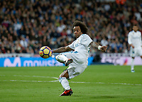 Real Madrid's Marcelo Vieira and UD Las Palmas'  during La Liga match. November 5,2017. (ALTERPHOTOS/Inma Garcia)