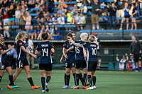 Seattle, WA - Saturday, March 12, 2018: Seattle Reign FC vs Sky Blue FC at the UW Medicine Pitch at Memorial Stadium.