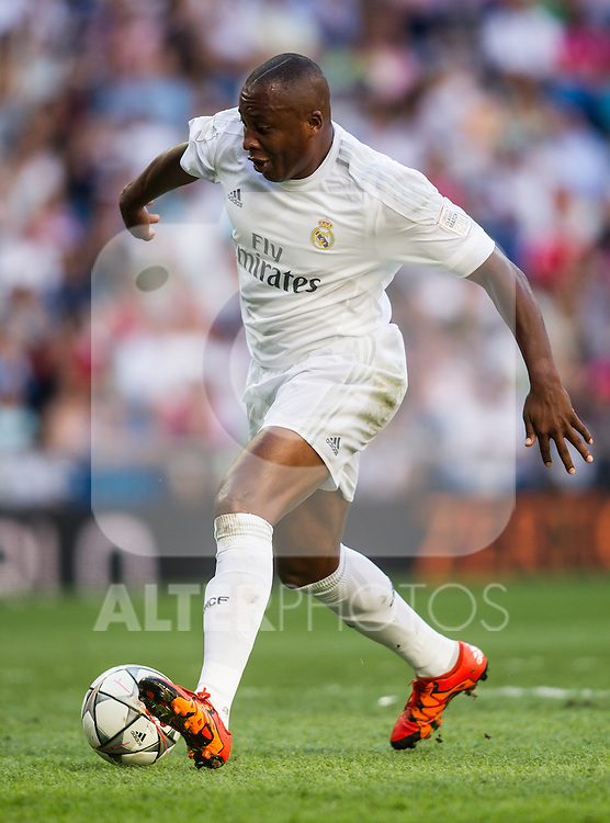 Edwin Congo during the Corazon Classic Match 2016 at Estadio Santiago Bernabeu between Real Madrid Legends and Ajax Legends. Jun 5,2016. (ALTERPHOTOS/Rodrigo Jimenez)