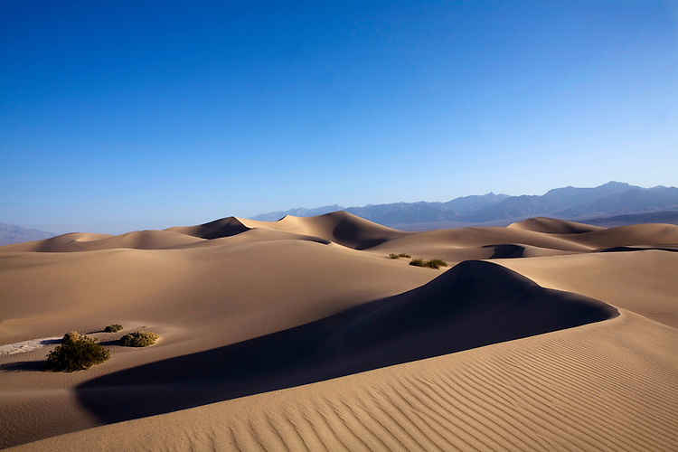 Death Valley sand dunes © Carli Davidson