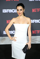 WESTWOOD, CA - DECEMBER 13: Martha Higareda, at Premiere Of Netflix's 'Bright' at The Regency Village Theatre, In Hollywood, California on December 13, 2017. Credit: Faye Sadou/MediaPunch /NortePhoto.com NORTEPHOTOMEXICO