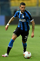 Cristiano Biraghi of FC Internazionale in action during the Serie A football match between Parma and FC Internazionale at stadio Ennio Tardini in Parma ( Italy ), June 28th, 2020. Play resumes behind closed doors following the outbreak of the coronavirus disease. <br /> Photo Andrea Staccioli / Insidefoto
