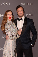 LOS ANGELES, CA - NOVEMBER 04: Elizabeth Chambers, Armie Hammer at the 2017 LACMA Art + Film Gala Honoring Mark Bradford And George Lucas at LACMA on November 4, 2017 in Los Angeles, California. Credit: David Edwards/MediaPunch /NortePhoto.com
