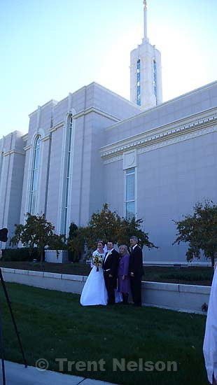caleb ovard wedding at LDS Temple, timpanogos. Gary Ovard, Trudy Ovard, Caleb Ovard