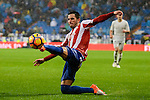 Sporting de Gijon's player Moi Gonzalez during match of La Liga between Real Madrid and Sporting de Gijon at Santiago Bernabeu Stadium in Madrid, Spain. November 26, 2016. (ALTERPHOTOS/BorjaB.Hojas)