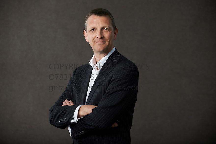 Mark Easton, BBC Home News Editor  at The Edinburgh International Book Festival   . Credit Geraint Lewis