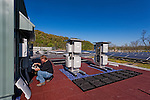 Scalo Solar wiring new sensors into a complex environmental monitoring system.