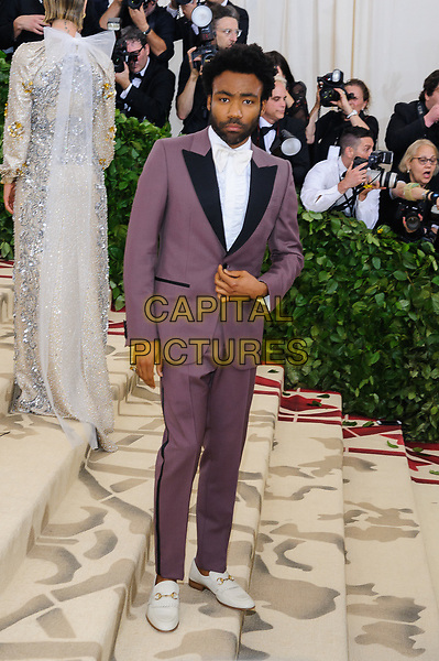 07 May 2018 - New York, New York - Donald Glover. 2018 Metropolitan Museum of Art Costume Institute Gala: &quot;Heavenly Bodies: Fashion and the Catholic Imagination. <br /> CAP/ADM/CS<br /> &copy;CS/ADM/Capital Pictures
