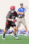 Santa Barbara, CA 04/16/16 - Brent Melbye (Chapman #29) in action during the final regular MCLA SLC season game between Chapman and UC Santa Barbara.  Chapman defeated UCSB 15-8.