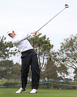 24 JAN 13  Belgian Nicholas Colsaerts during Thursdays First Round of The Farmers Insurance Open at Torrey Pines Golf Course in La Jolla, California. (photo:  kenneth e.dennis / kendennisphoto.com)