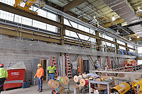 New Haven Rail Yard, Independent Wheel True Facility. CT-DOT Project # 0300-0139, New Haven CT.<br /> Photograph of Construction Progress Photo Shoot 33 on 4 April 2014. One of 50 Images Captured this Submission.