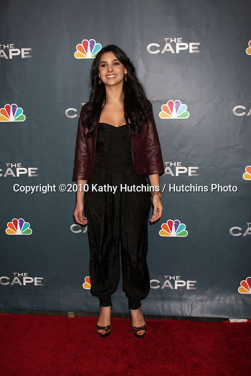 "LOS ANGELES - JAN 4:  Camila Banus arrives at ""The Cape"" Premiere Party at Music Box Theater on January 4, 2011 in Los Angeles, CA."