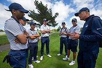 Aukland team members during the Toro Men's Interprovincial Golf Championship, Clearwater Golf Course, Christchurch, New Zealand. photo: Joseph Johnston/www.bwmedia.co.nz