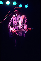 CHICAGO, ILLINOIS - APRIL 13, 1984: The Pretenders performing at The Aragon Ballroom in Chicago, Illinois on April 13,1984.<br /> CAP/MPI/GA<br /> &copy;GA/MPI/Capital Pictures