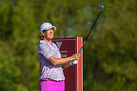Juli Inkster (USA) watches her tee shot on 7 during round 1 of  the Volunteers of America LPGA Texas Classic, at the Old American Golf Club in The Colony, Texas, USA. 5/5/2018.<br /> Picture: Golffile | Ken Murray<br /> <br /> <br /> All photo usage must carry mandatory copyright credit (&copy; Golffile | Ken Murray)