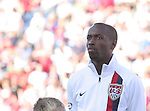 23 May 2006: The United States DaMarcus Beasley during player introductions. The United States Men's National Team lost 1-0 to their counterparts from Morocco at the Nashville Coliseum in Nashville, Tennessee in a men's international friendly soccer game.