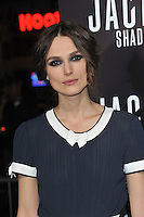 Keira Knightley at the Los Angeles premiere of her movie &quot;Jack Ryan: Shadow Recruit&quot; at the TCL Chinese Theatre, Hollywood.<br /> January 15, 2014  Los Angeles, CA<br /> Picture: Paul Smith / Featureflash
