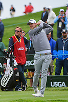 Bernd Wiesberger (AUT) watches his tee shot on 10 during round 3 of the 2019 US Open, Pebble Beach Golf Links, Monterrey, California, USA. 6/15/2019.<br /> Picture: Golffile | Ken Murray<br /> <br /> All photo usage must carry mandatory copyright credit (© Golffile | Ken Murray)