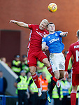 28.09.2018 Rangers v Aberdeen: Sam Cosgrove and George Edmundson