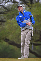 Richy Werenski (USA) watches his tee shot on 2 during Round 3 of the Valero Texas Open, AT&amp;T Oaks Course, TPC San Antonio, San Antonio, Texas, USA. 4/21/2018.<br /> Picture: Golffile   Ken Murray<br /> <br /> <br /> All photo usage must carry mandatory copyright credit (&copy; Golffile   Ken Murray)