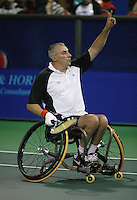 18-11-06,Amsterdam, Tennis, Wheelchair Masters, Peter Norfolk winner Quad Singles 2006