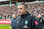 02.11.2019, wohninvest WESERSTADION, Bremen, GER, 1.FBL, Werder Bremen vs SC Freiburg<br /> <br /> DFL REGULATIONS PROHIBIT ANY USE OF PHOTOGRAPHS AS IMAGE SEQUENCES AND/OR QUASI-VIDEO.<br /> <br /> im Bild / picture shows<br /> Frank Baumann (Geschäftsführer Fußball Werder Bremen), <br /> <br /> Foto © nordphoto / Ewert