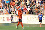 06 June 2015: Carolina's Mamadou Futty Danso (GAM). The Carolina RailHawks hosted Minnesota United FC at WakeMed Stadium in Cary, North Carolina in a North American Soccer League 2015 Spring Season match. The game ended in a 1-1 tie.