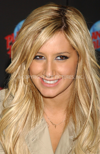 WWW.ACEPIXS.COM . . . . . ....February 7, 2007, New York City. ....Ashley Tisdale attends Handprint Ceremony at Planet Hollywood. ....Please byline: KRISTIN CALLAHAN - ACEPIXS.COM.. . . . . . ..Ace Pictures, Inc:  ..(212) 243-8787 or (646) 769 0430..e-mail: info@acepixs.com..web: http://www.acepixs.com