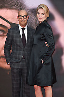 LONDON, UK. October 20, 2018: Stanley Tucci &amp; Felicity Blunt at the London Film Festival screening of &quot;A Private War&quot; at the Cineworld Leicester Square, London.<br /> Picture: Steve Vas/Featureflash