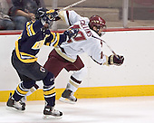 Merrimack ?, Chris Collins - Boston College defeated Merrimack College 3-0 with Tim Filangieri's first two collegiate goals on November 26, 2005 at Kelley Rink/Conte Forum in Chestnut Hill, MA.