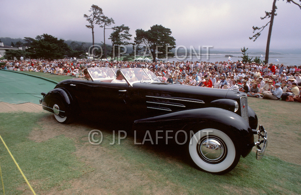 August 26th, 1984.1935 Cadillac 452D Fleetwood Convertible Sedan.