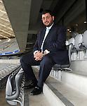 Fussball, TSV 1860 Muenchen: Investor Hasan Ismaik beim Stadionrundgang