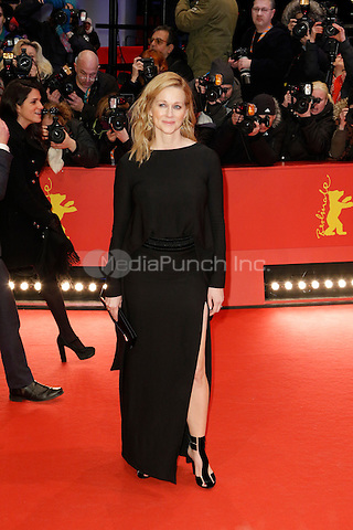 Laura Linney attending the &quot;Genius&quot; premiere held at Grand Hyatt Hotel during 66th Berlinale International Film Festival, Berlin, Germany, 16.02.2016. <br /> Photo by Christopher Tamcke/insight media /MediaPunch ***FOR USA ONLY***