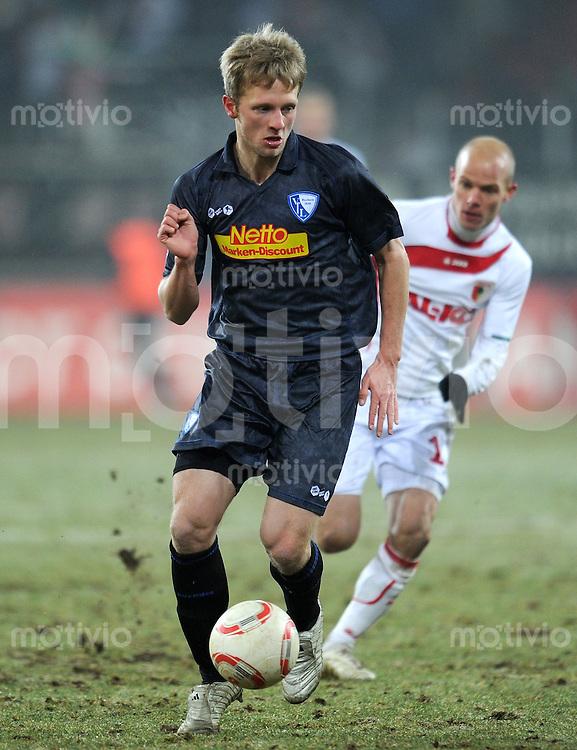 2. Fussball Bundesliga:  Saison  2010/2011    20. Spieltag  FC Augsburg - VfL Bochum      31.01.2011 Bjoern Kopplin (VfL Bochum)
