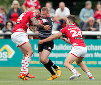 Jamie Thackray in action for London during the Kingstone Press Championship game between London Broncos and Leigh Centurions at Ealing Trailfinders, Ealing, on Sun June 26,2016