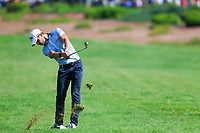 Thomas Detry (BEL) on the 1st fairway during the 2nd round of the DP World Tour Championship, Jumeirah Golf Estates, Dubai, United Arab Emirates. 22/11/2019<br /> Picture: Golffile | Fran Caffrey<br /> <br /> <br /> All photo usage must carry mandatory copyright credit (© Golffile | Fran Caffrey)