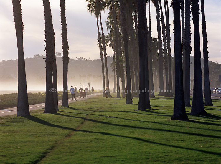 """Bike Path, East Beach  Santa Barbara CALIFORNIA"""