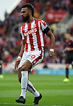Eric Maxim Choupo Moting of Stoke City during the premier league match at the Britannia Stadium, Stoke. Picture date 19th August 2017. Picture credit should read: Robin Parker/Sportimage