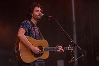 Alexandre Poulin performs at the Festival d'ete de Quebec (Quebec Summer Festival) on July 14, 2018.