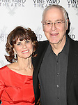 Margo Lion and Ron Chernow attend 2015 Vineyard Theatre Gala honoring Margo Lion at Edison Ballroom on March 30, 2015 in New York City.
