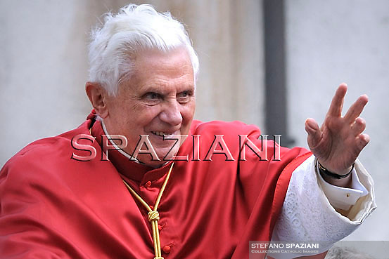 Pope Benedict XVI  near Aosta, northern Italy, Monday, July 24, 2009.