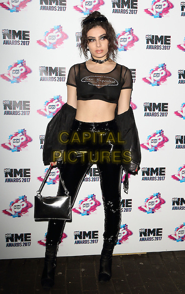 Charli XCX at The VO5 NME Awards 2017 at the O2 Academy, Brixton, London on February 15th 2017<br /> CAP/ROS<br /> &copy;Steve Ross/Capital Pictures