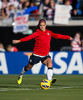 Alex Morgan.  The USWNT defeated Scotland, 4-1, during a friendly at EverBank Field in Jacksonville, Florida.