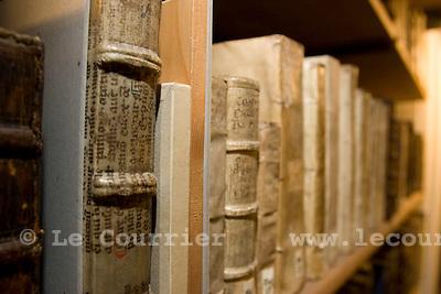 Genève, le 27.05.2008.Bibliothèque publique universitaire ( BPU ).© Le Courrier / J.-P. Di Silvestro