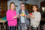 Maria Horan and Noreeen Breen from Fenit with Mairead Moriarty from Tralee at at the Wild Mind Festival on Sunday