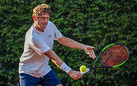 Hilversum, The Netherlands,  August 23, 2019,  Tulip Tennis Center, NSK, JOHN PETERS  HANS VAN DER BRANDE<br /> Photo: Tennisimages/Henk Koster
