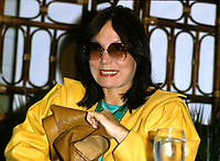 Montreal (Qc) CANADA - Undated File Photo - <br /> <br /> Nana Mouskouri.<br /> <br /> Nana Mouskouri (in Greek, N?????? ??????????????????), born as Ioanna Mouskhouri on October 13, 1934, in Chania, Crete, Greece, is a singer of Greek origin. She was known as Nana to her friends and family as a child. (Note that in Greek her surname is pronounced with the stress on the first syllable rather than the second.) She has recorded in many different languages, including Greek, French, English, German, Italian, Spanish, among others.<br /> <br /> -Photo (c)  Images Distribution